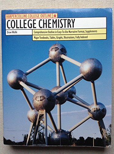 9780064671200: College Chemistry (Harpercollins College Outline Series)