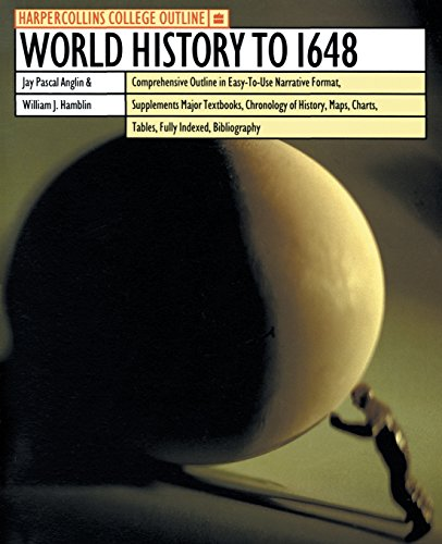 9780064671231: HarperCollins College Outline World History to 1648