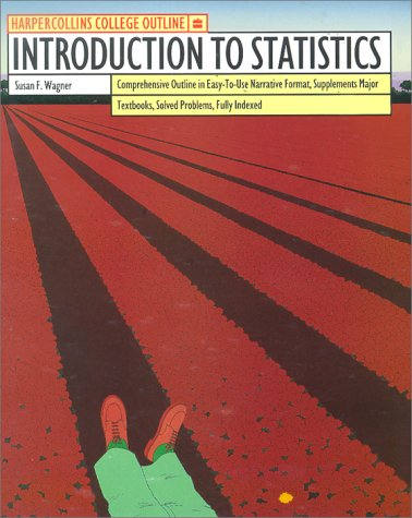 9780064671347: HarperCollins College Outline Introduction to Statistics