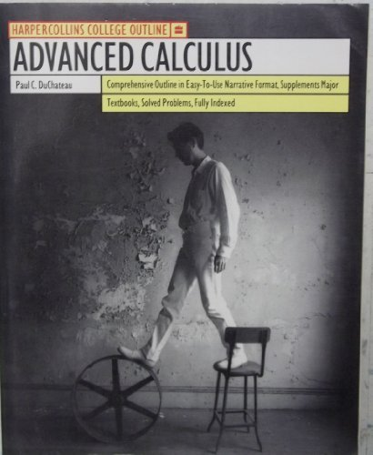 9780064671392: Advanced Calculus (HARPERCOLLINS COLLEGE OUTLINE SERIES)