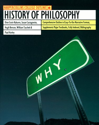 9780064671422: HarperCollins College Outline History of Philosophy (HARPERCOLLINS COLLEGE OUTLINE SERIES)