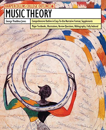 9780064671682: Music Theory (HarperCollins College Outlines)