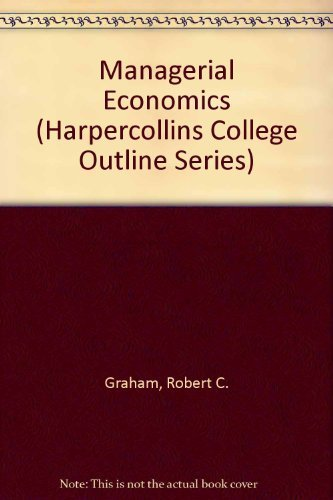 9780064671729: Managerial Economics (HARPERCOLLINS COLLEGE OUTLINE SERIES)