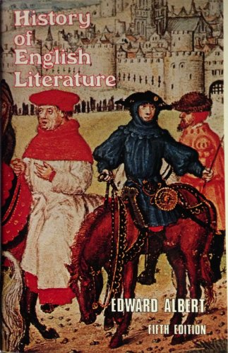 9780064901451: History of English Literature