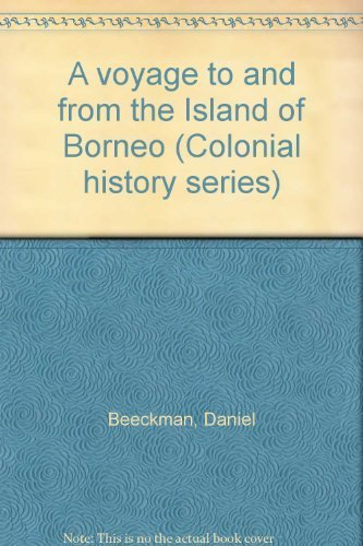 A Voyage to and from the Island of Borneo.