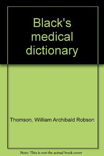 9780064904377: Black's medical dictionary