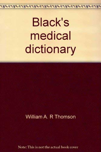 9780064904438: Black's medical dictionary