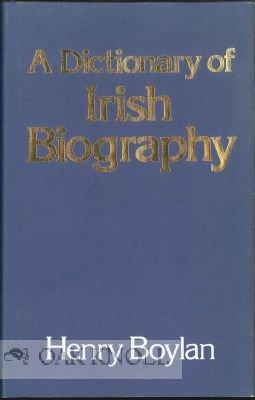 9780064906203: A dictionary of Irish biography