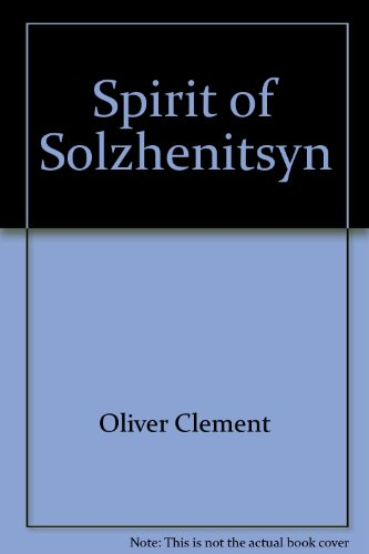 9780064912129: The Spirit of Solzhenitsyn