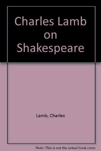 9780064912556: Charles Lamb on Shakespeare
