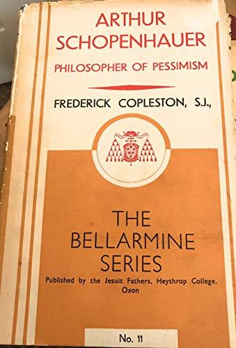 9780064912815: Arthur Schopenhauer: Philosopher of Pessimism