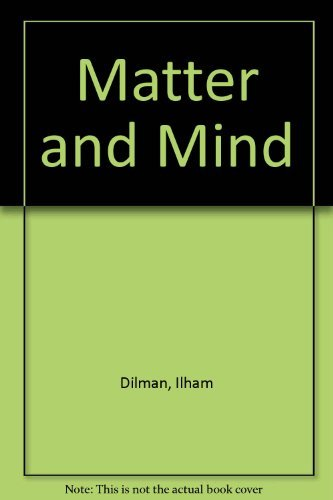 9780064916899: Matter and mind: Two essays in epistemology