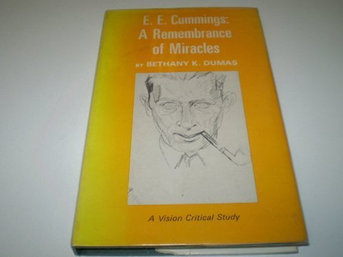 9780064918220: E. E. Cummings: A Remembrance of Miracles