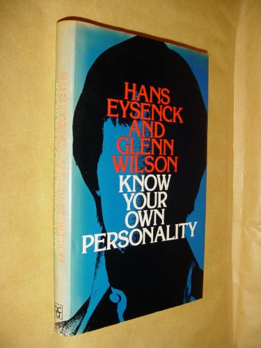 9780064920544: Know your own personality