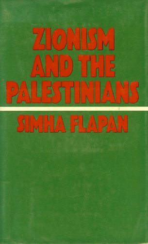 9780064921046: Zionism and the Palestinians