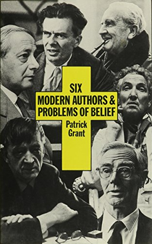 9780064925150: Six Modern Authors and Problems of Belief