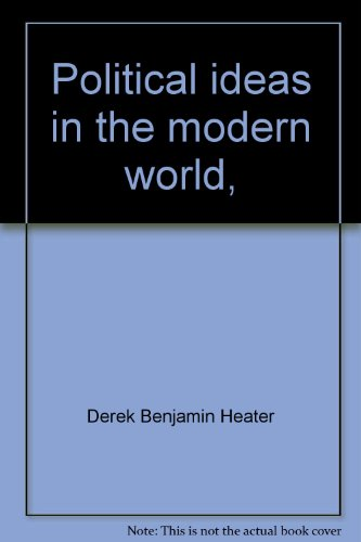 9780064927826: Political ideas in the modern world,