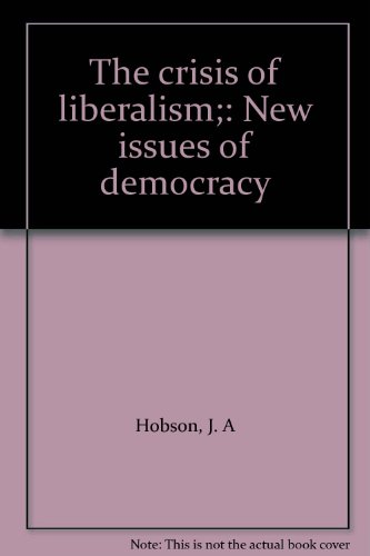 9780064929134: The crisis of liberalism;: New issues of democracy