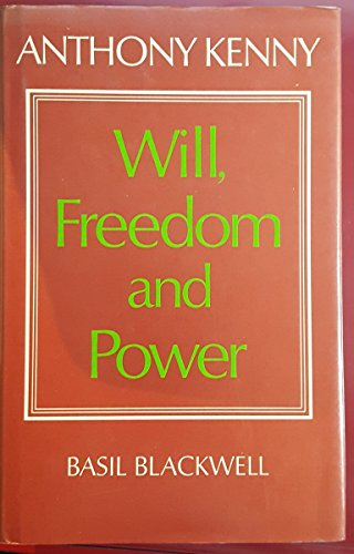9780064936392: Will, freedom, and power