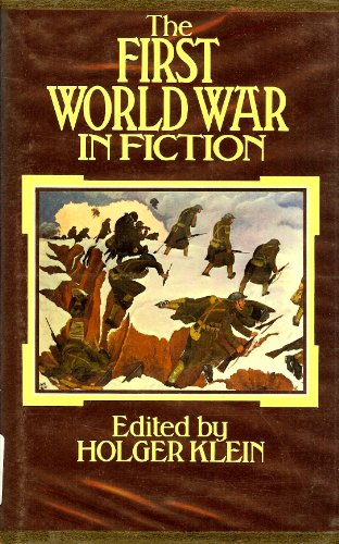 9780064937924: The First World War in fiction: A collection of critical essays