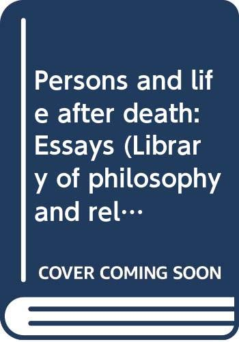 Persons and life after death: Essays (Library: Lewis, Hywel David