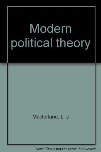 9780064944526: Modern political theory [Hardcover] by Macfarlane, L. J