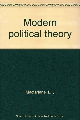 9780064944533: Modern political theory