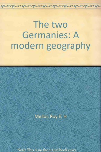9780064947794: The Two Germanies: A Modern Geography
