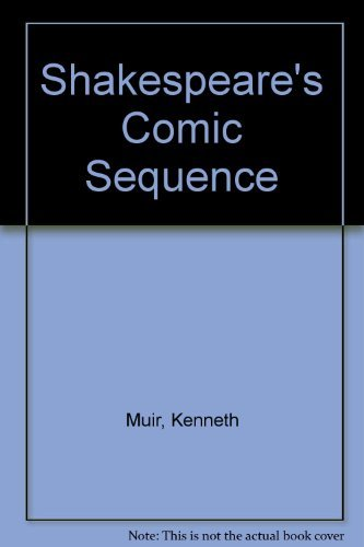 9780064950206: Shakespeare's Comic Sequence