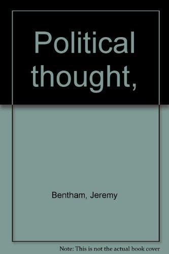 Political thought,: Jeremy Bentham