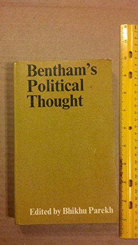 9780064953801: Bentham's Political Thought