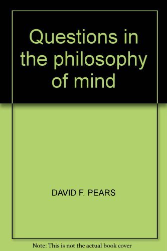 9780064954761: Questions in the philosophy of mind