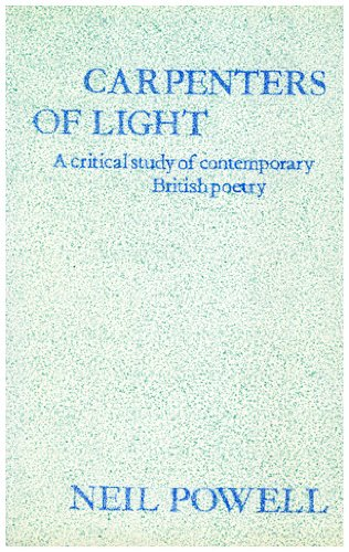 9780064956659: Carpenters of Light: Some Contemporary English Poets