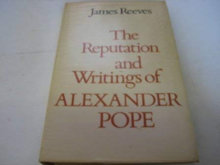 9780064958202: The Reputation and Writings of Alexander Pope