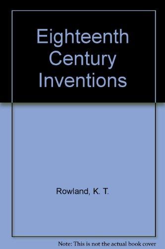 9780064960151: Eighteenth Century Inventions