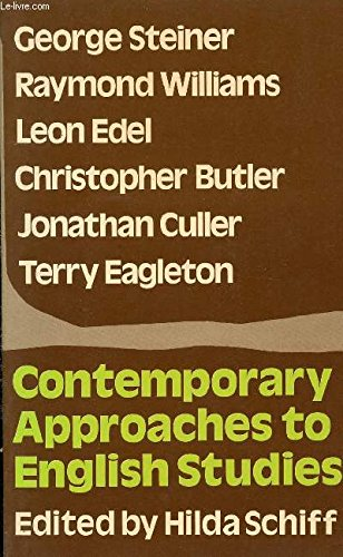 9780064961059: Contemporary approaches to English studies