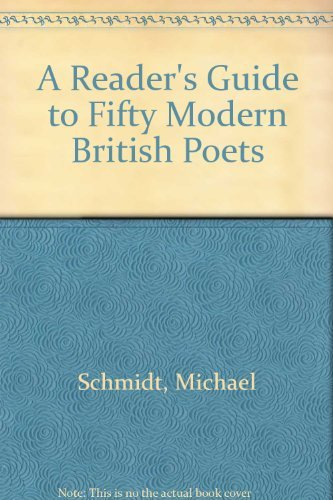 9780064961103: A Reader's Guide to Fifty Modern British Poets