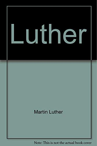 9780064962469: Luther (Evidence and commentary)