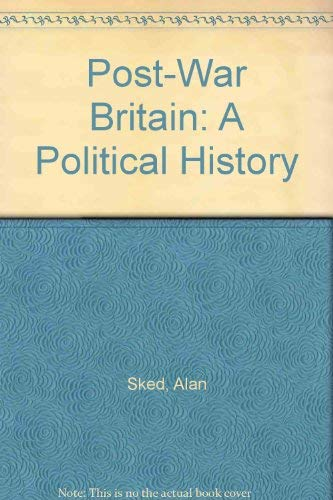 9780064963220: Post-War Britain: A Political History