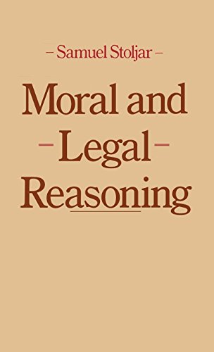 9780064965705: Moral and Legal Reasoning