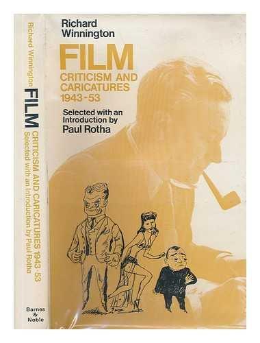 9780064977661: Film criticism and caricatures, 1943-53
