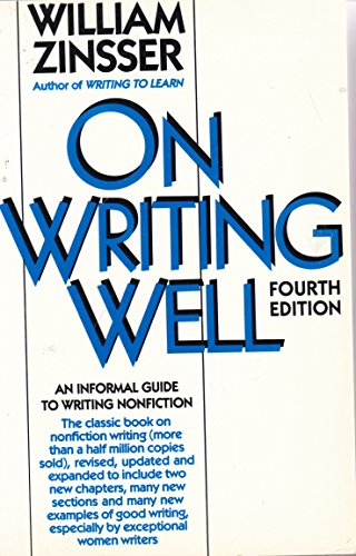 9780065000269: On Writing Well: An Informal Guide to Writing Nonfiction