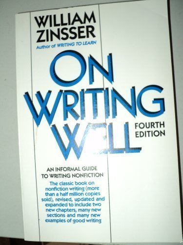 zinsser on writing well pdf