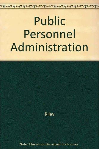 9780065000740: Public Personnel Administration
