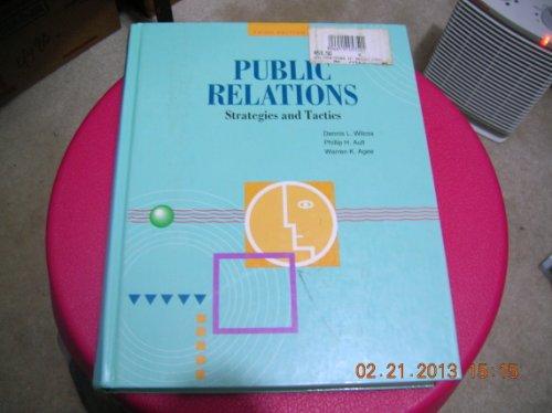 9780065001006: Public Relations: Strategies and Tactics