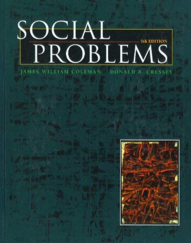 9780065001440: Social Problems