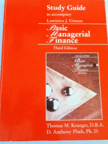 9780065001891: Basic Managerial Finance