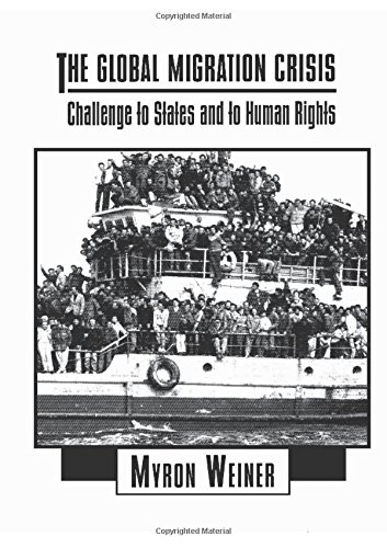 9780065002324: The Global Migration Crisis: Challenge to States and to Human Rights (The Harpercollins Series in Comparative Politics)