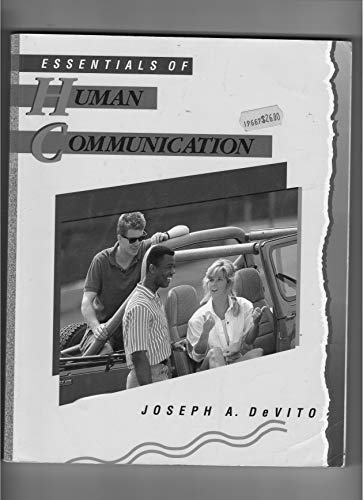 9780065004540: Essentials of Human Communication