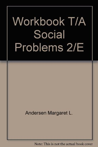 9780065004762: Workbook T/A Social Problems 2/E